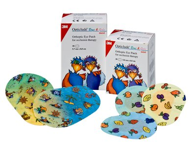 3M OPTICLUDE ORTHOPEDIC EYE PATCHES 1537 - C
