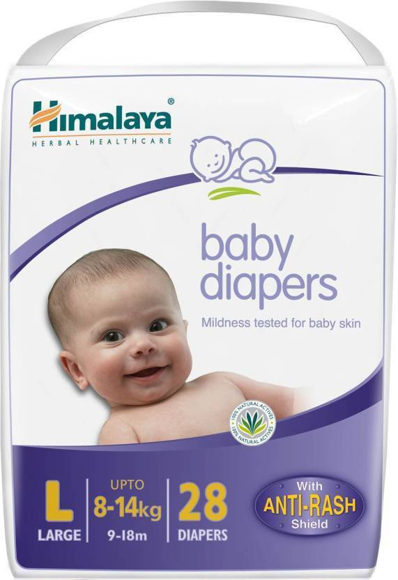 HIMALAYA BABY DIAPERS LARGE 28S