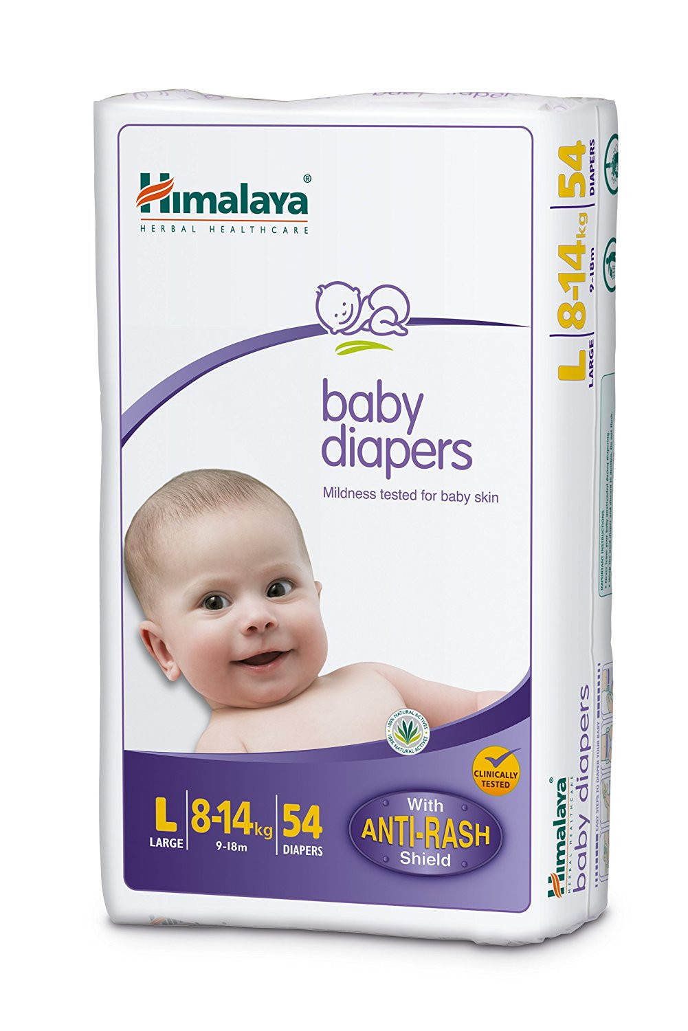 HIMALAYA BABY DIAPERS LARGE 54S