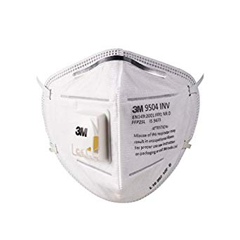 3M™ 9504 INV DISPOSABLE RESPIRATOR EN/BIS FFP2 SL